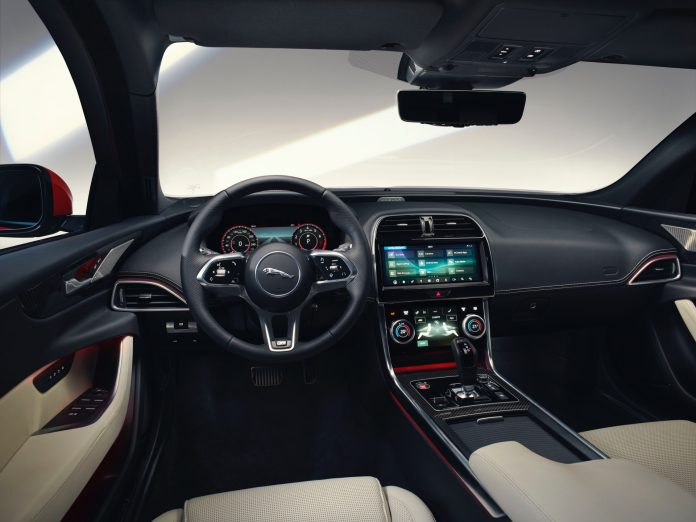 New Jaguar XE Interior
