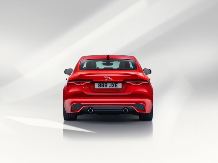 New Jaguar XE Rear