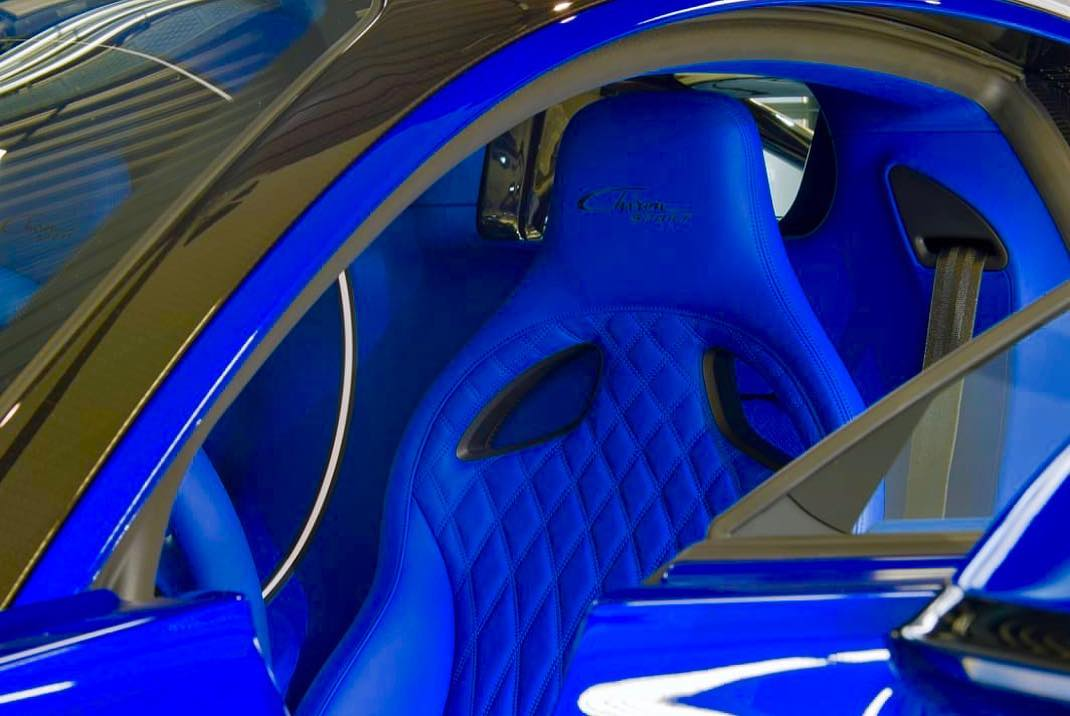 Power Of Blue New Bugatti Chiron Sport Headed To Qatar
