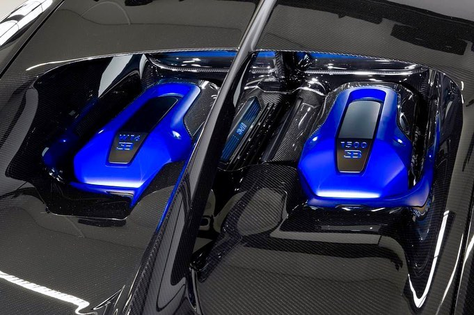 Bugatti Chiron Sport on W16 Engine