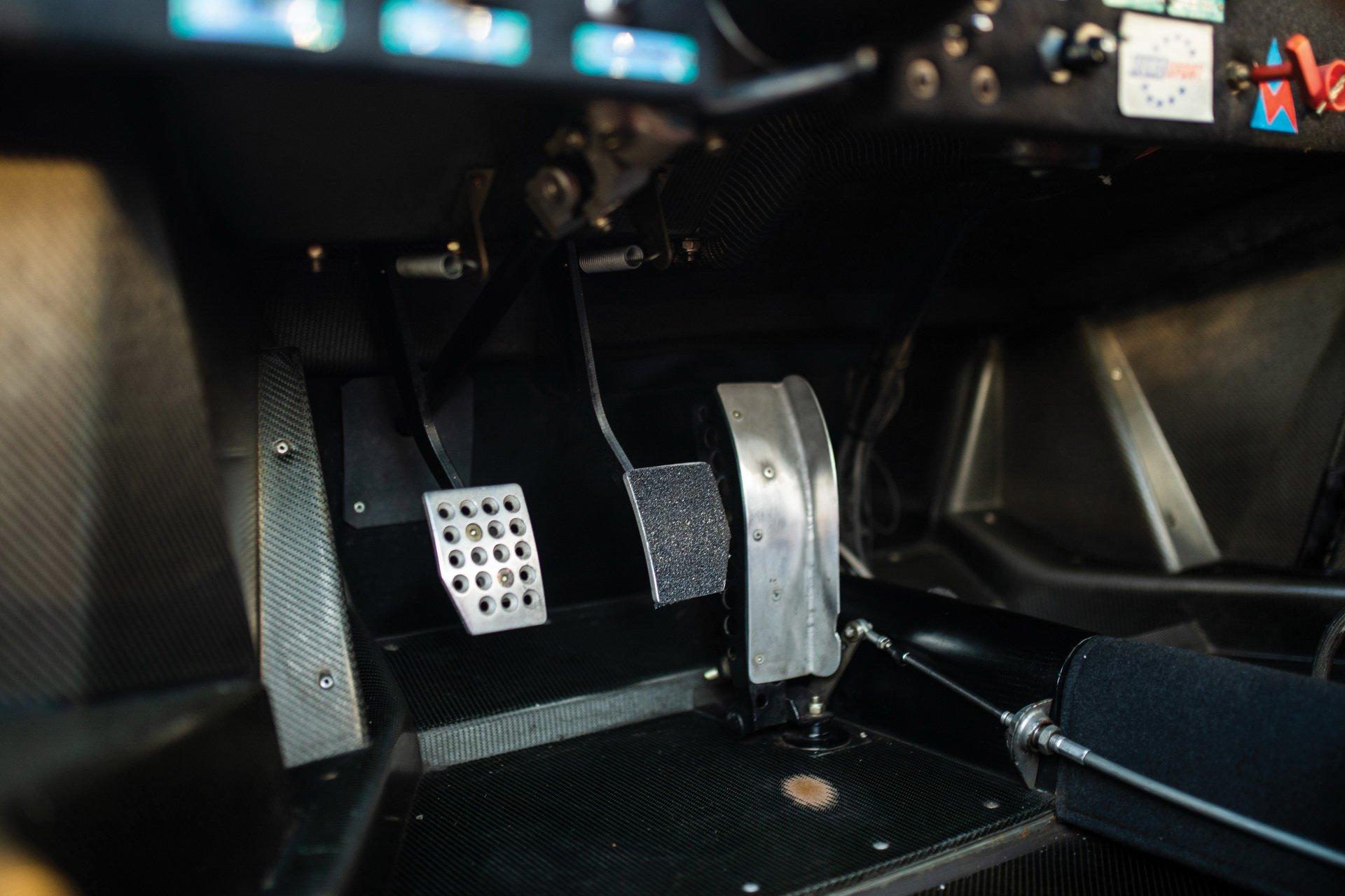 French Racing Blue Ferrari F40 LM