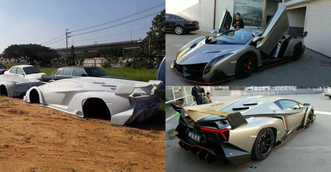 Lamborghini Veneno Replica