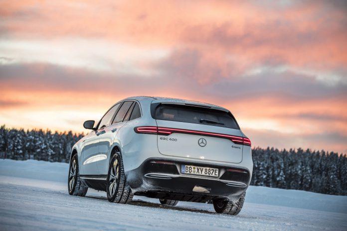 Mercedes-Benz EQC Rear