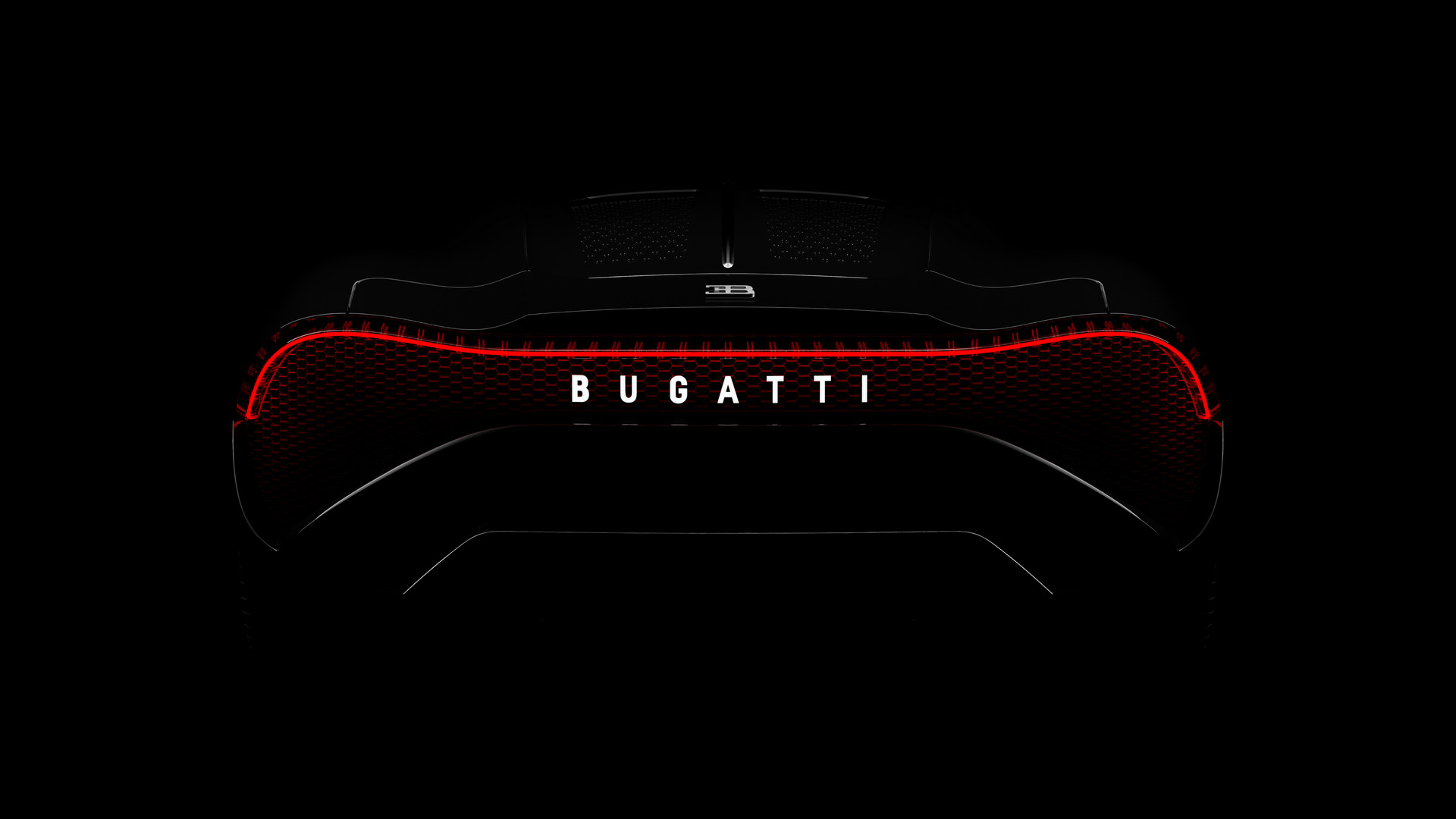 """1 of 1 Bugatti """"La Voiture Noire"""""""
