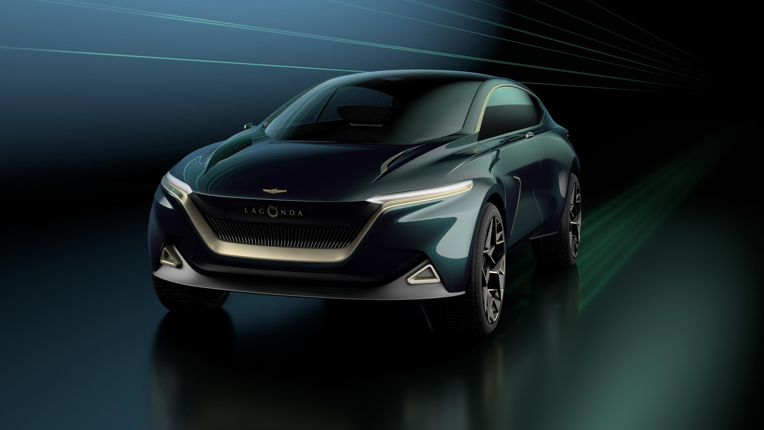 Aston Martin Lagonda All-Terrain Concept Officially