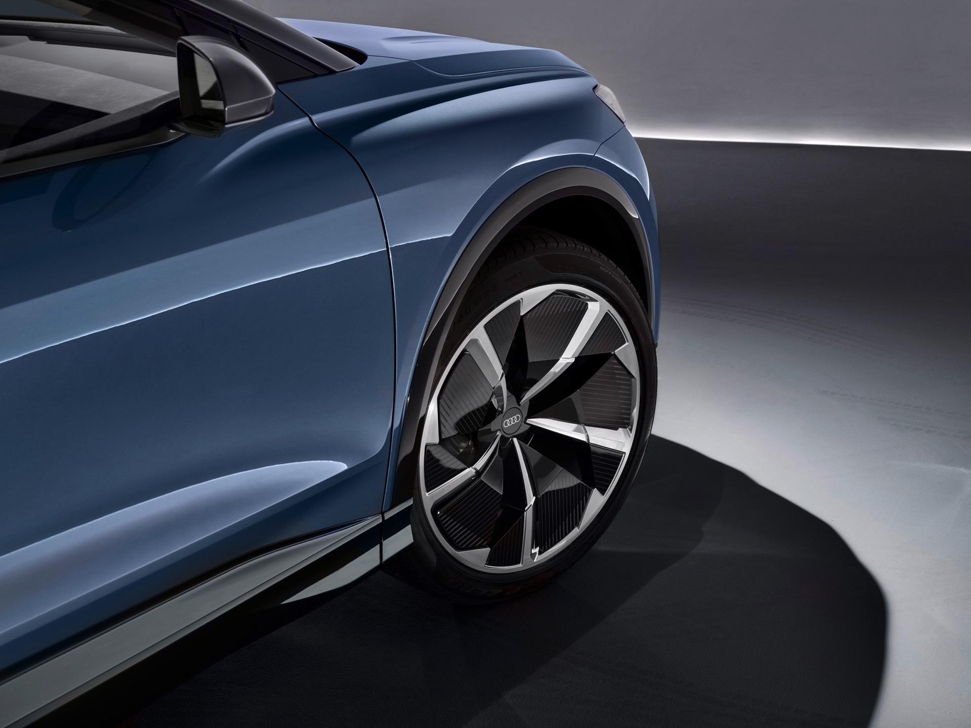 Audi Q4 e-tron Concept Front Wheel
