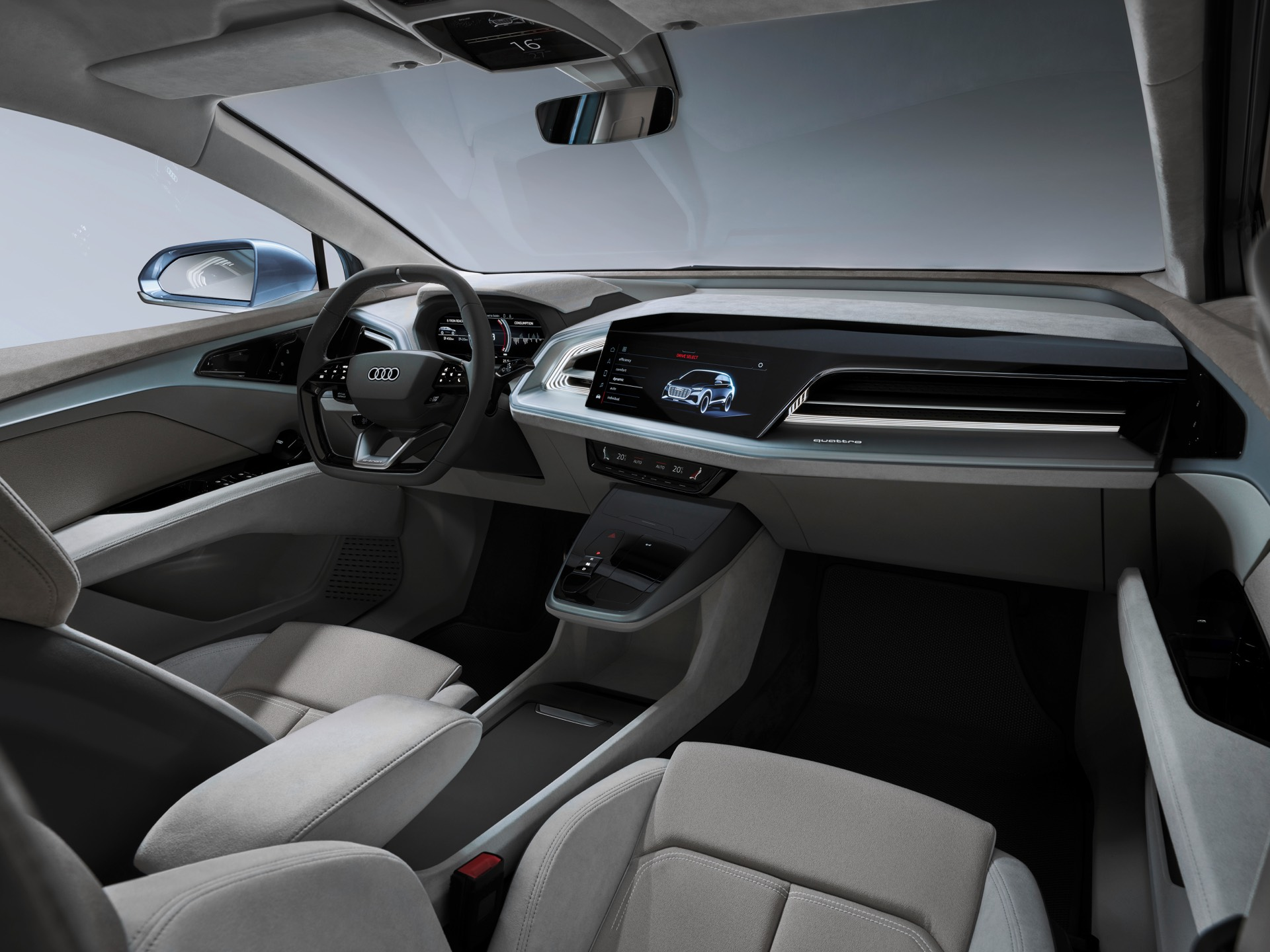 Audi Q4 e-tron Concept Passenger Side