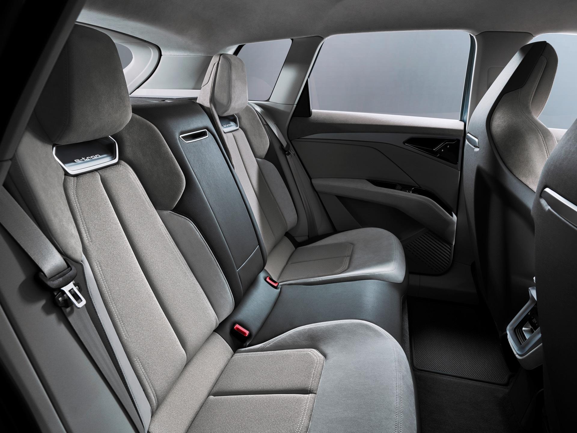 Audi Q4 e-tron Concept Rear Seats