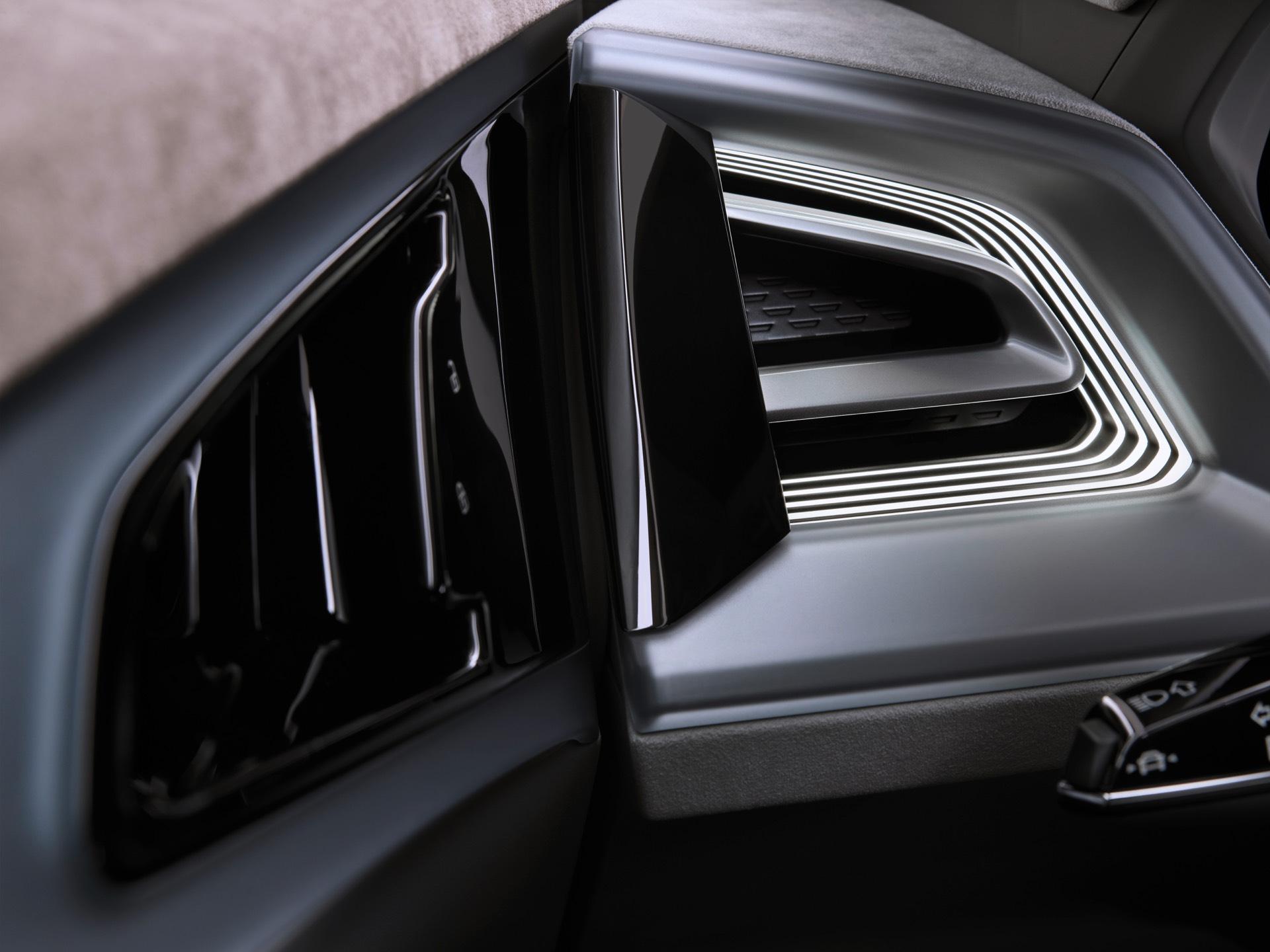 Audi Q4 e-tron Concept Air Vent