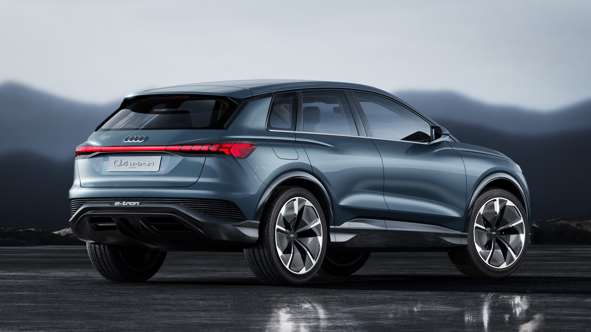 Audi Q4 e-tron Concept Rear