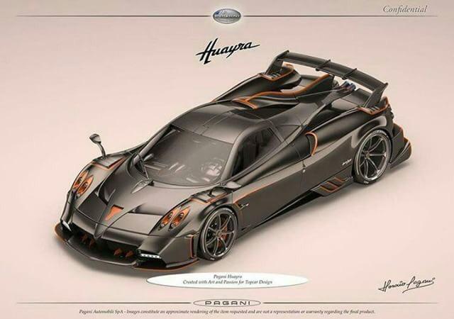 Exclusive: Pagani Huayra Dragon for TopCar Design