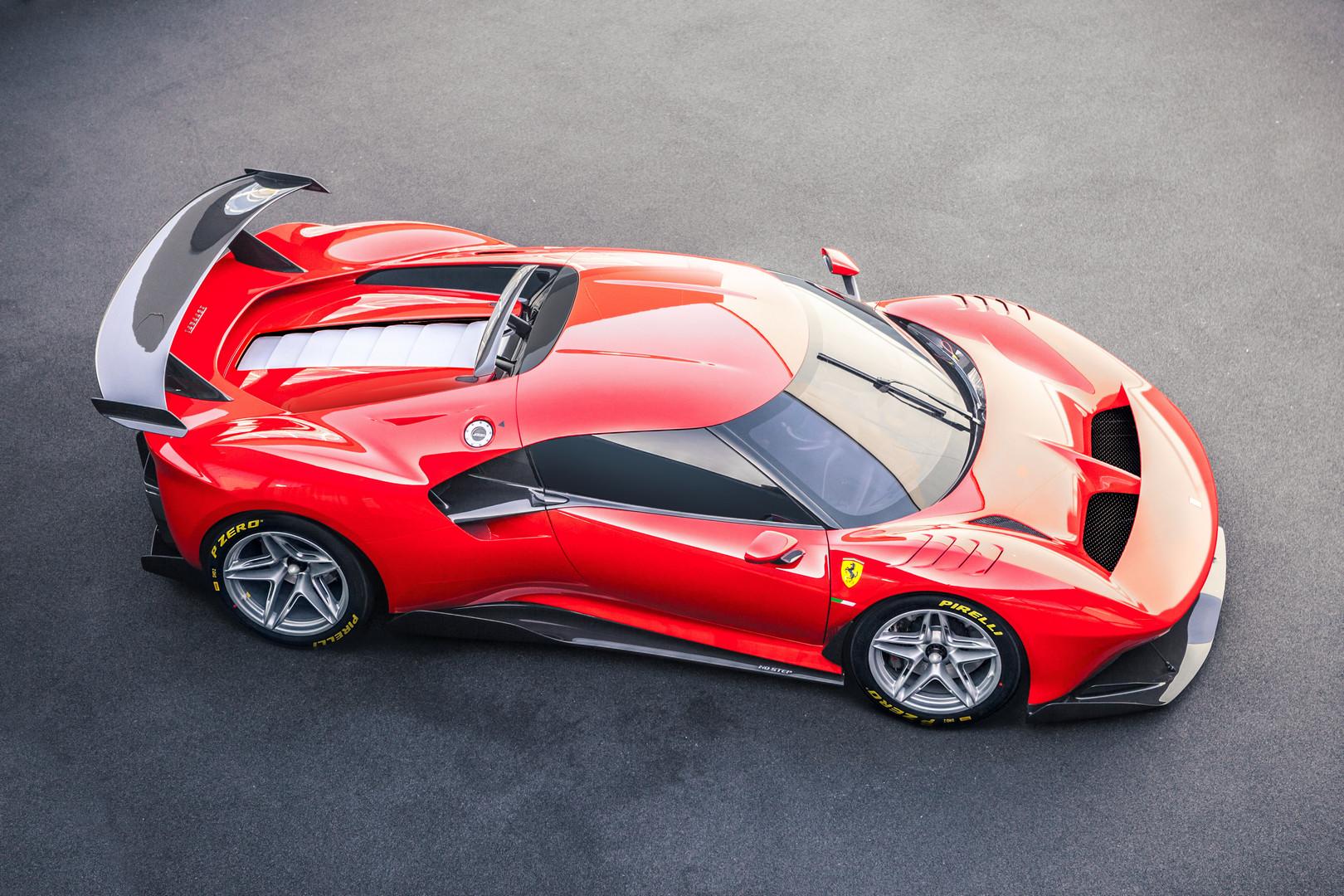Ferrari P80/C: One-Off Racecar