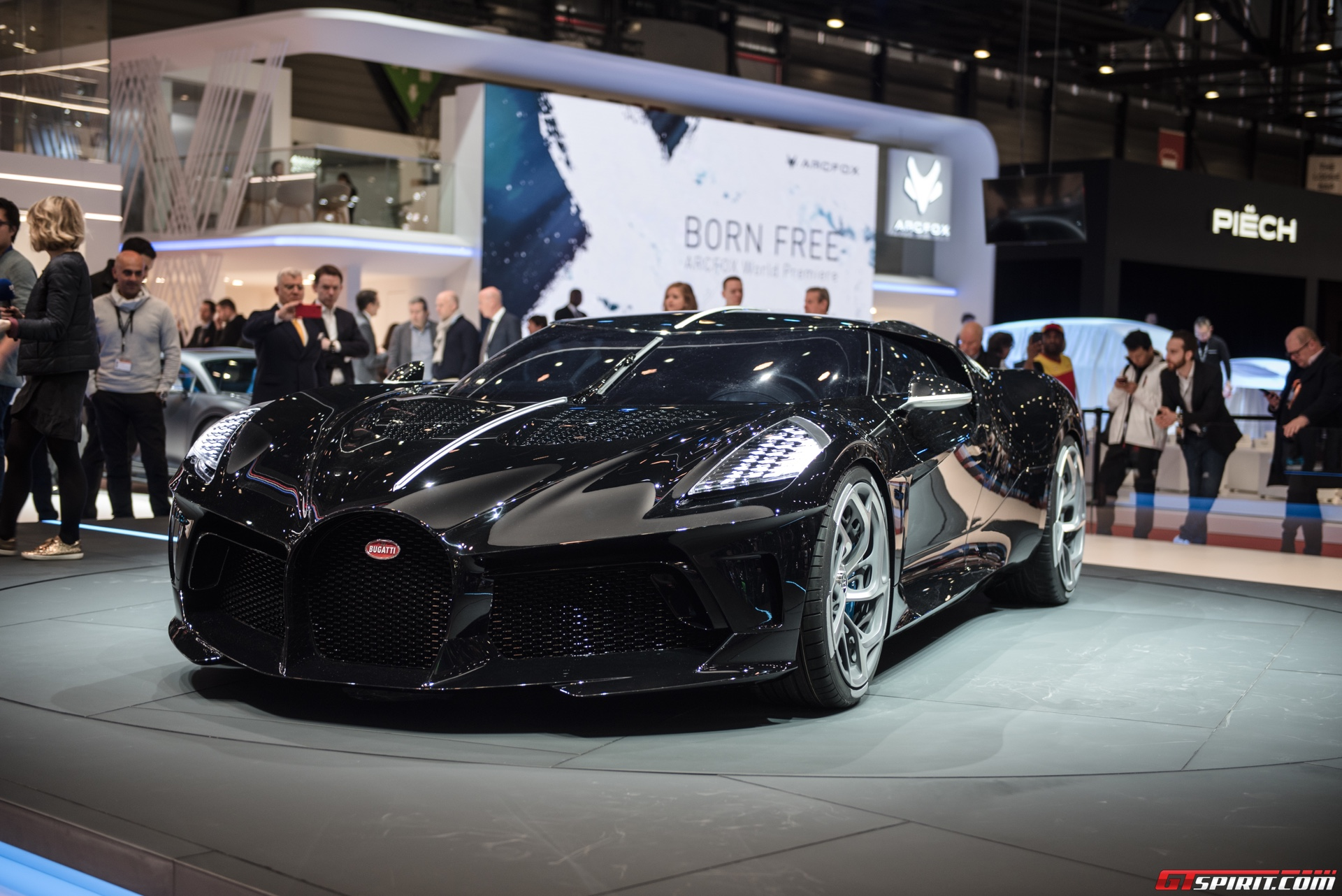 Bugattis La Voiture Noire is the worlds most expensive new auto