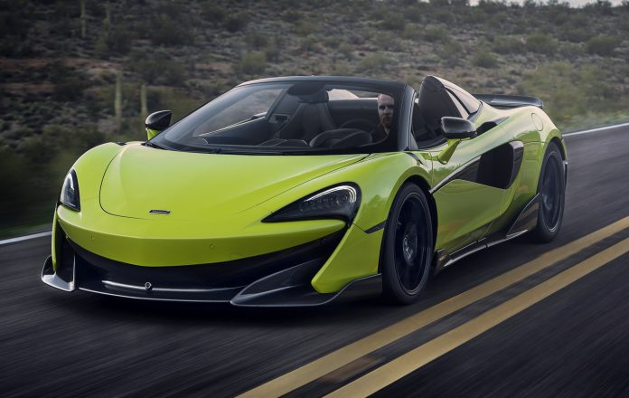 McLaren 600LT Spider Review