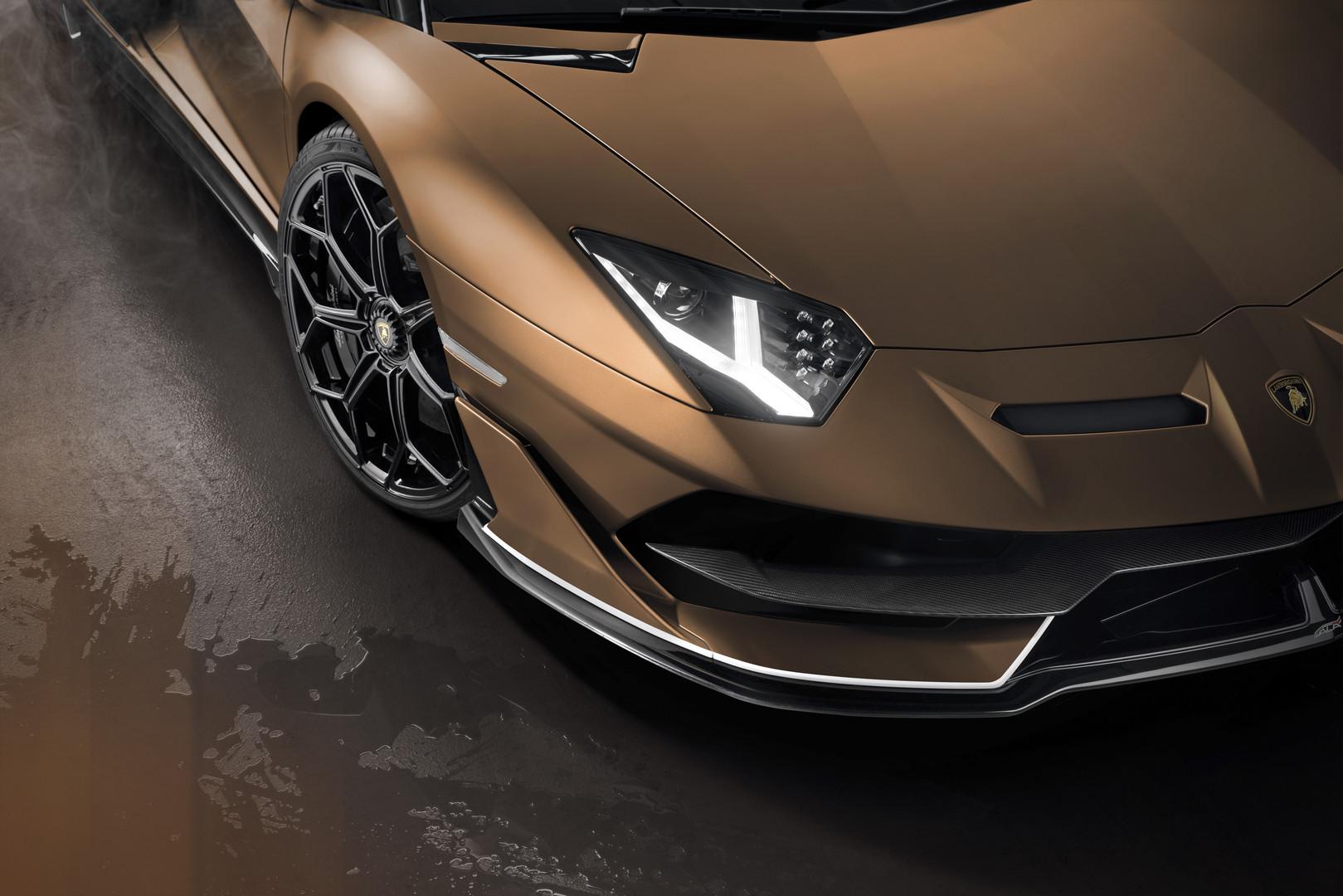 Lamborghini Aventador Svj Roadster Revealed 800 Units Only Gtspirit