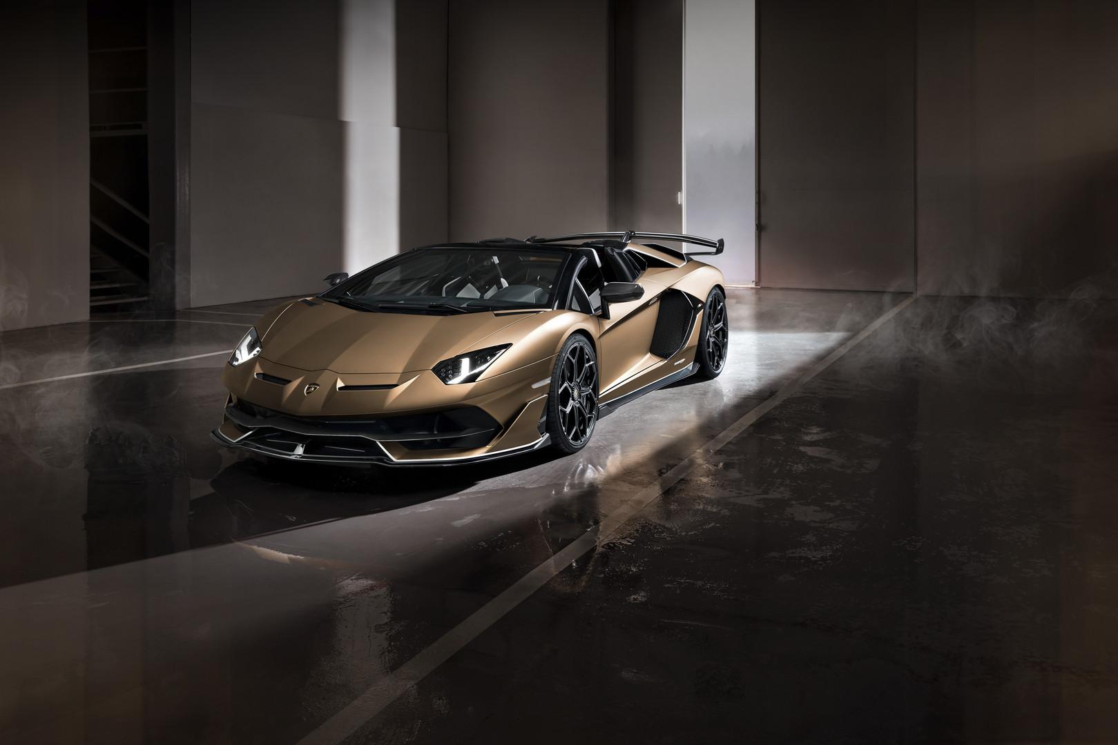 Lamborghini Aventador SVJ Roadster Bronzo Zenas