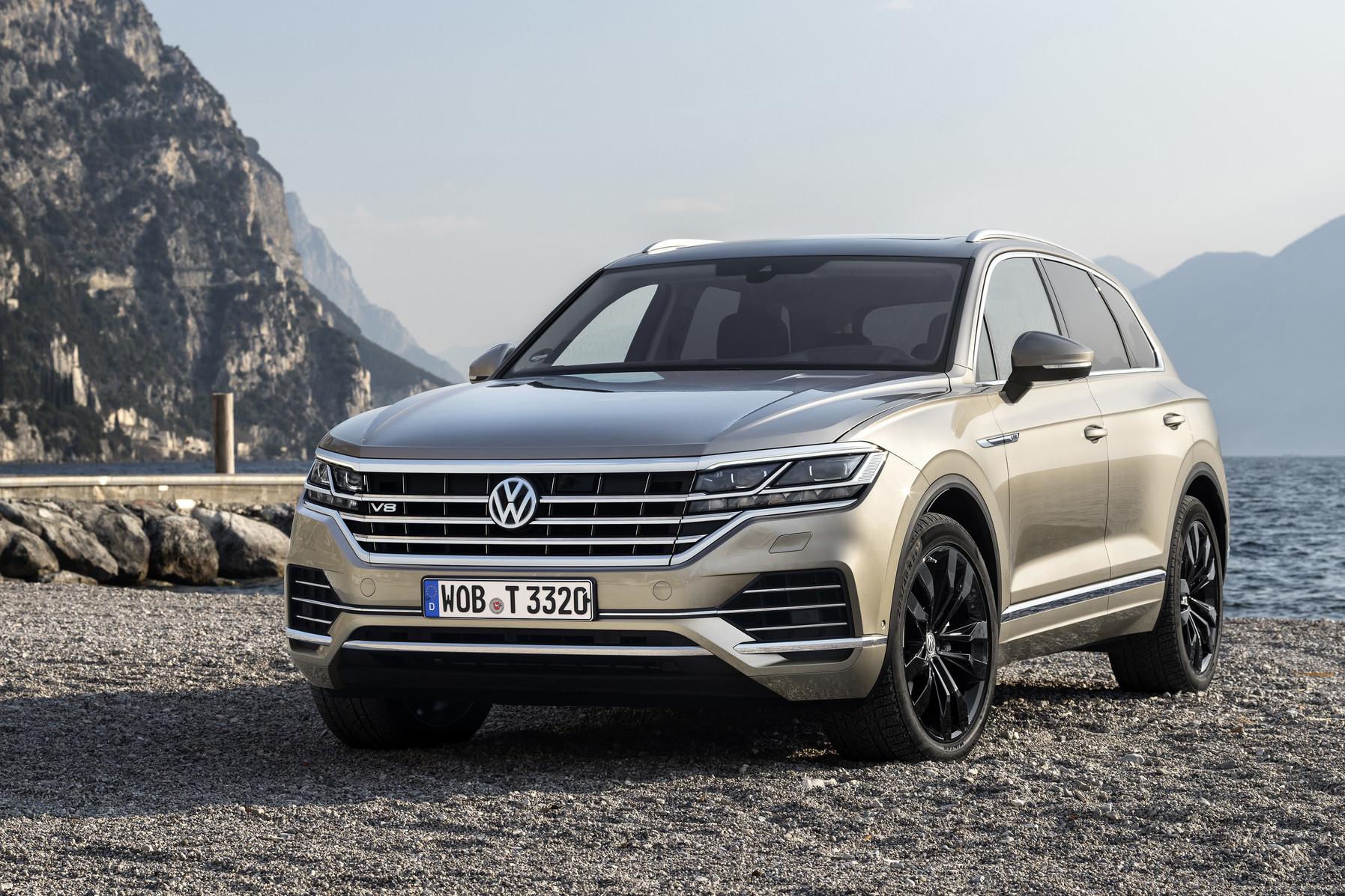 VW Touareg For Sale >> Volkswagen Touareg V8 TDI Gets Diesel V8 from Bentley Bentayga - GTspirit