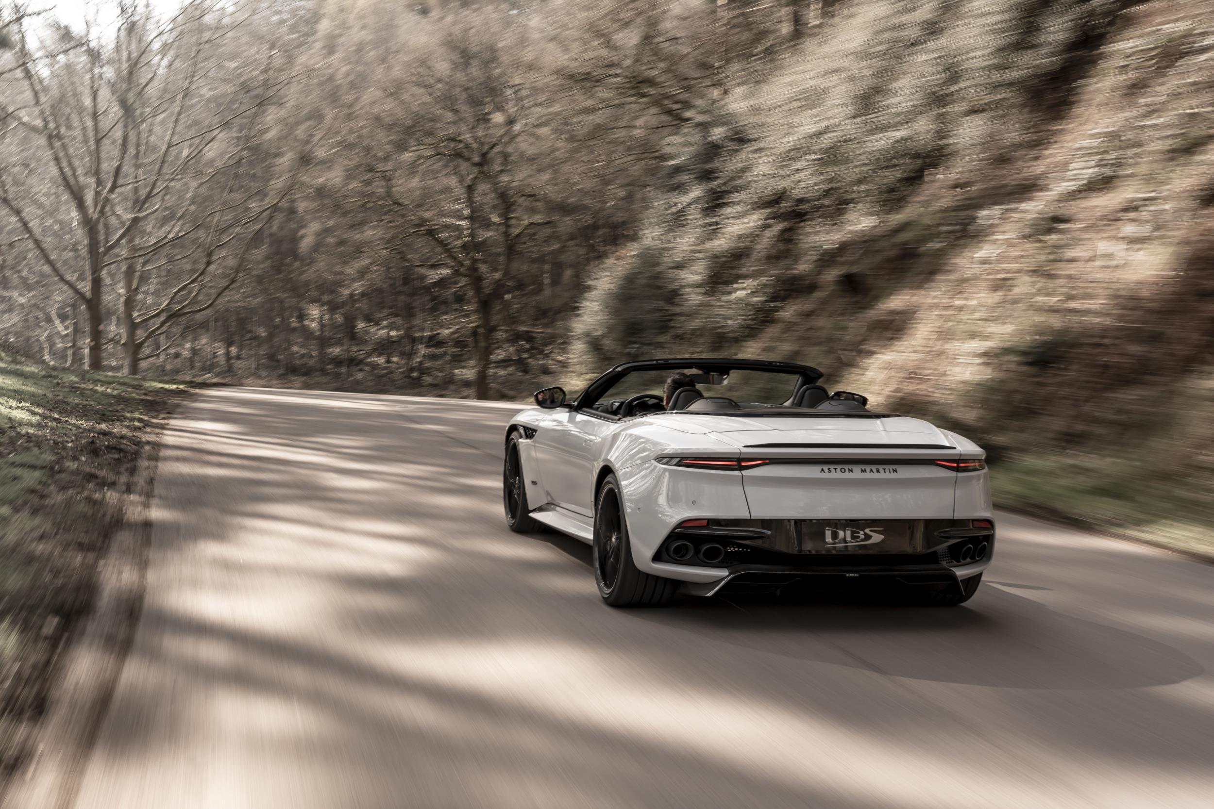Aston Martin DBS Superleggera Volante Is The Brand's ...  |Aston Martin Dbs Volante