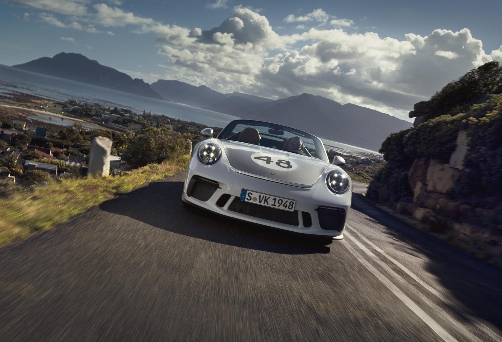 Official: 2019 Porsche 911 Speedster Heritage Design Package