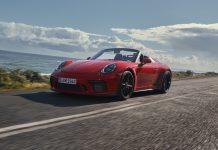 Official: 2019 Porsche 911 Speedster