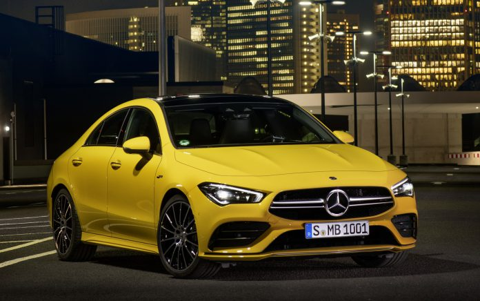 2020 Mercedes-AMG CLA 35 Coupe