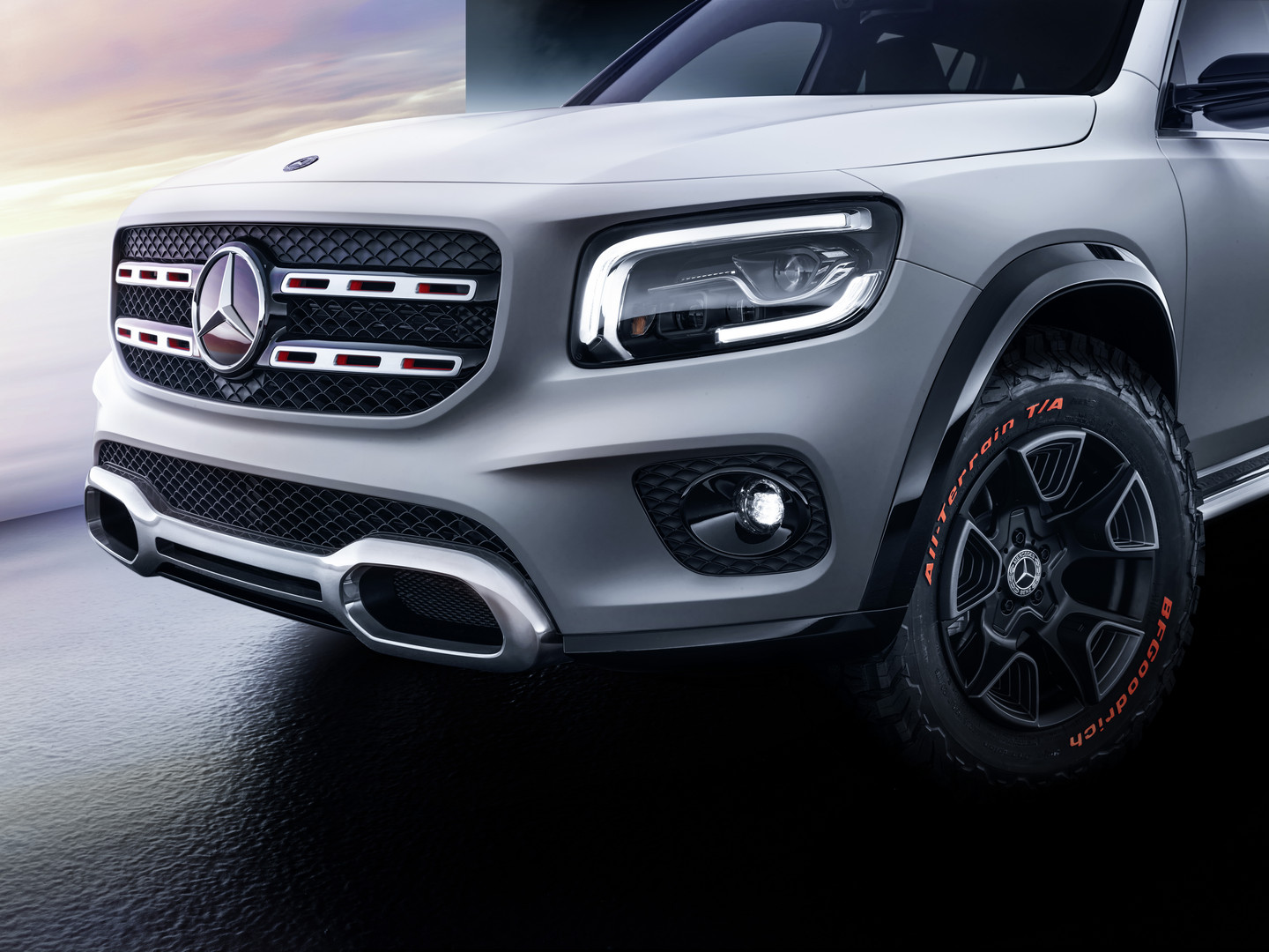 Mercedes Benz Glb Concept Breaks Cover Gtspirit