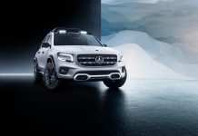 Mercedes-Benz GLB Concept Breaks Cover
