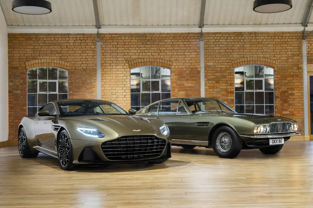 On Her Majesty's Secret Service Aston Martin