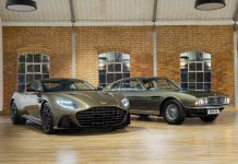 "Aston Martin DBS Superleggera: Edition ""On Her Majesty's Secret Service"""