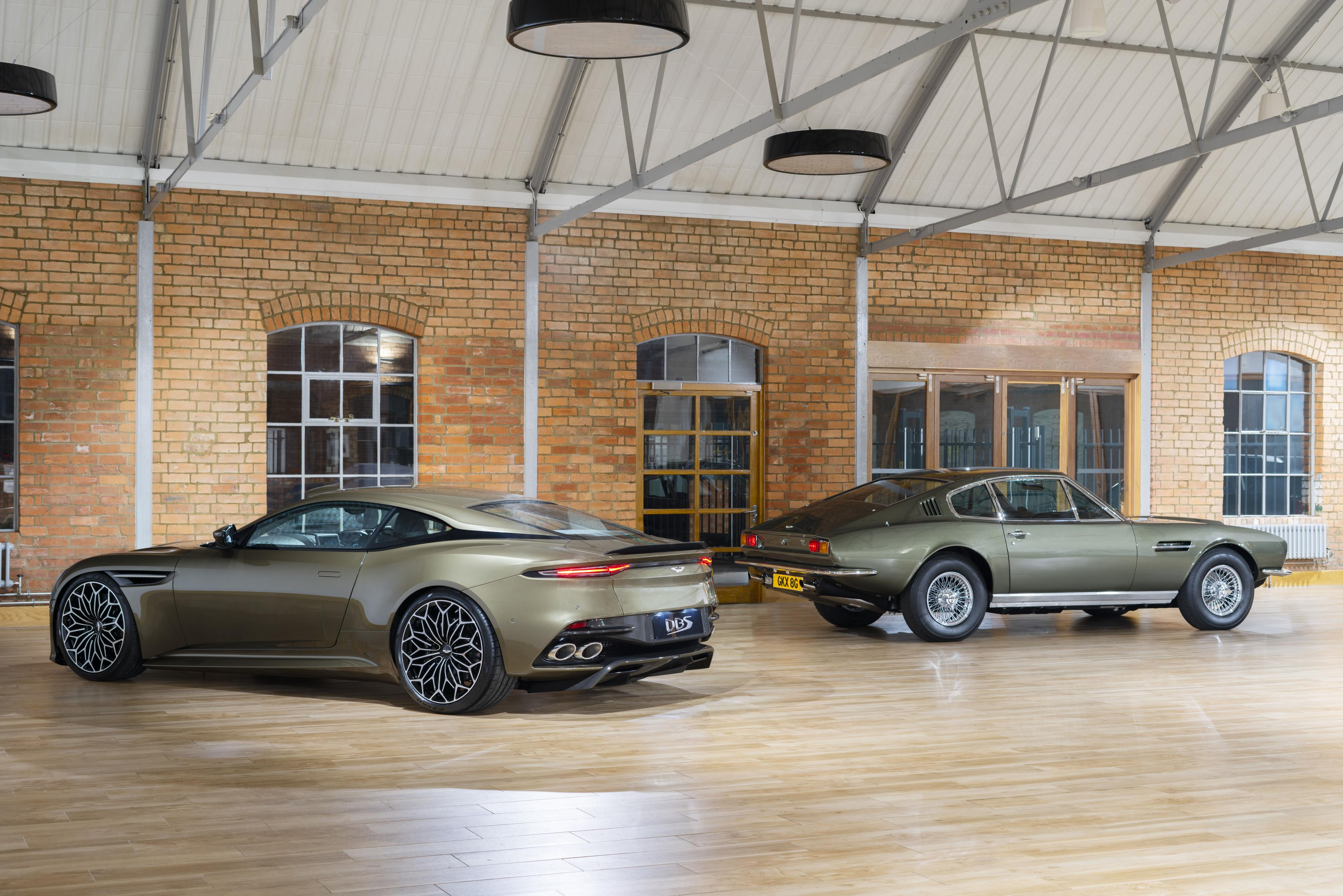 James Bond Aston Martin DBS Superleggera
