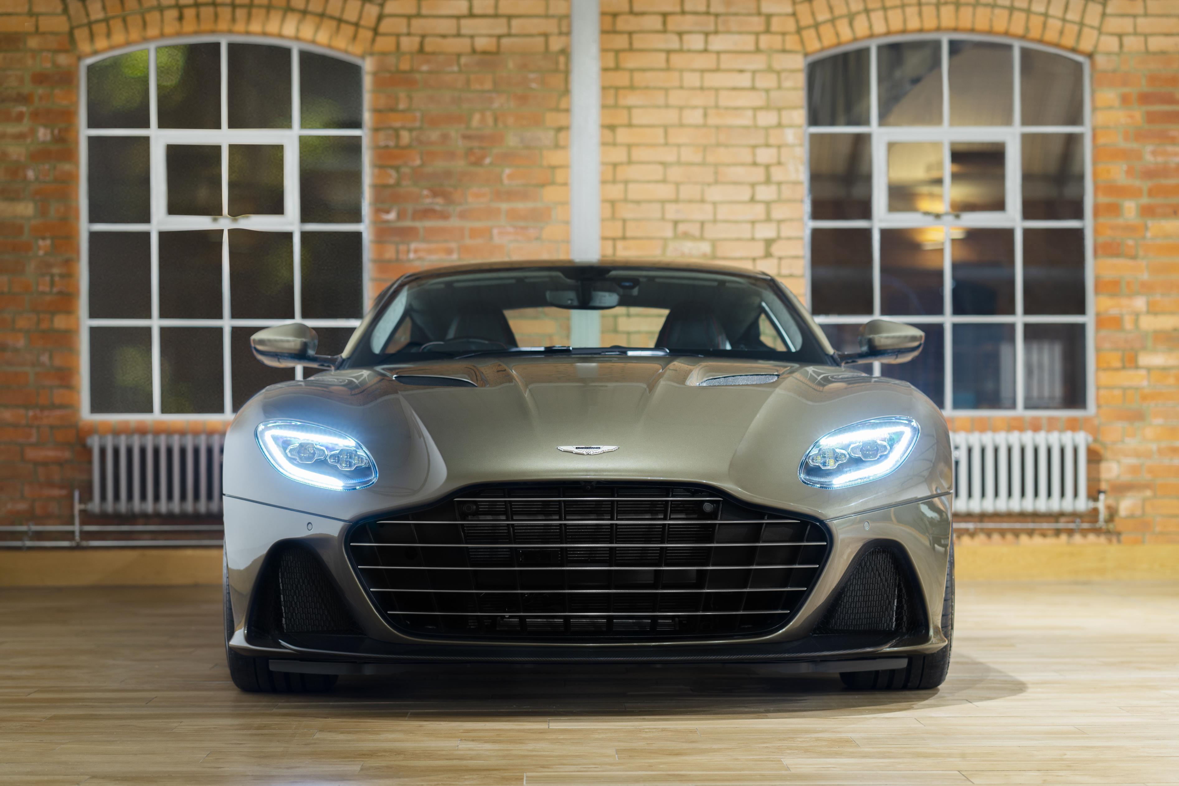Aston Martin DBS Superleggera Front View