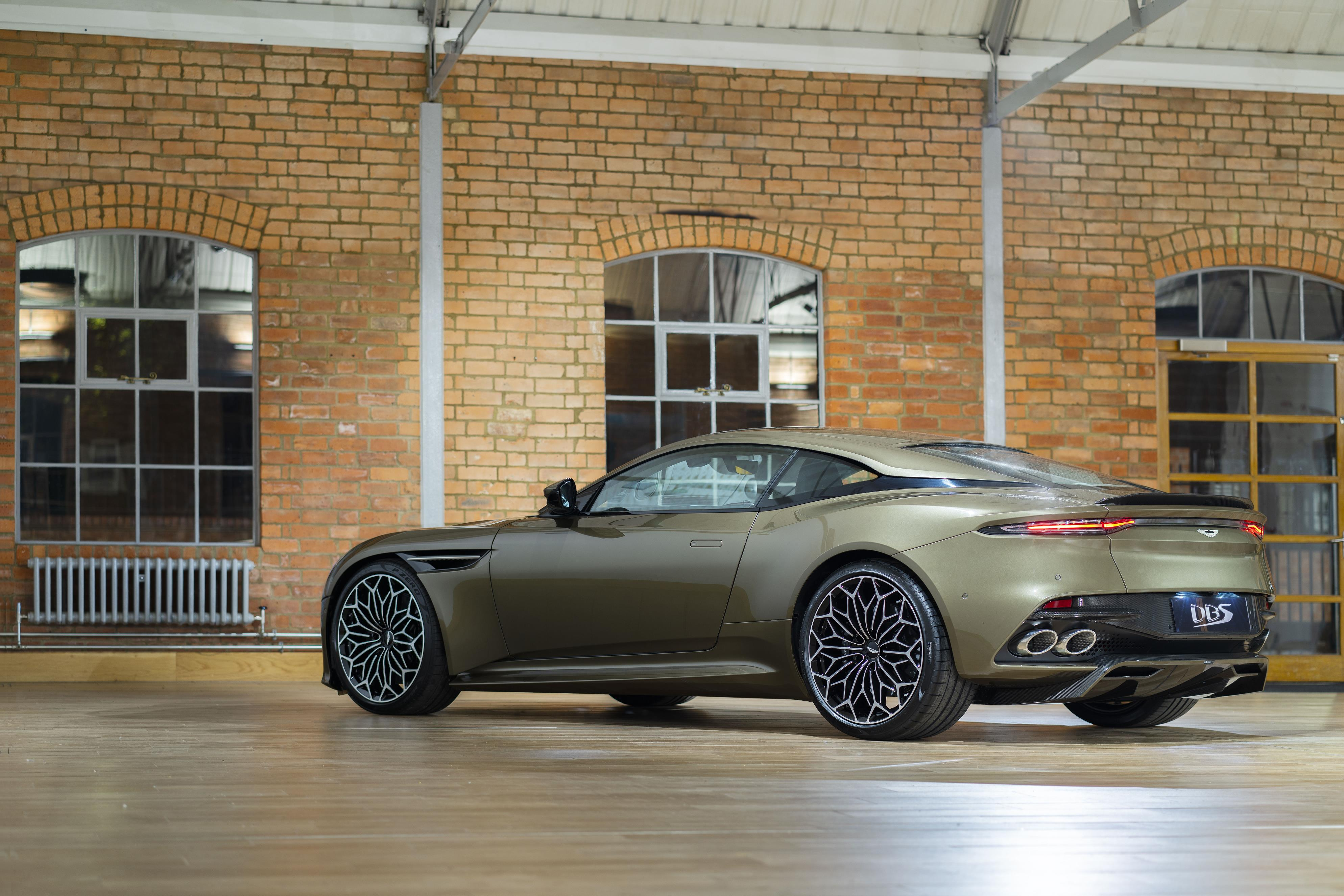 Aston Martin DBS Superleggera Rear Side