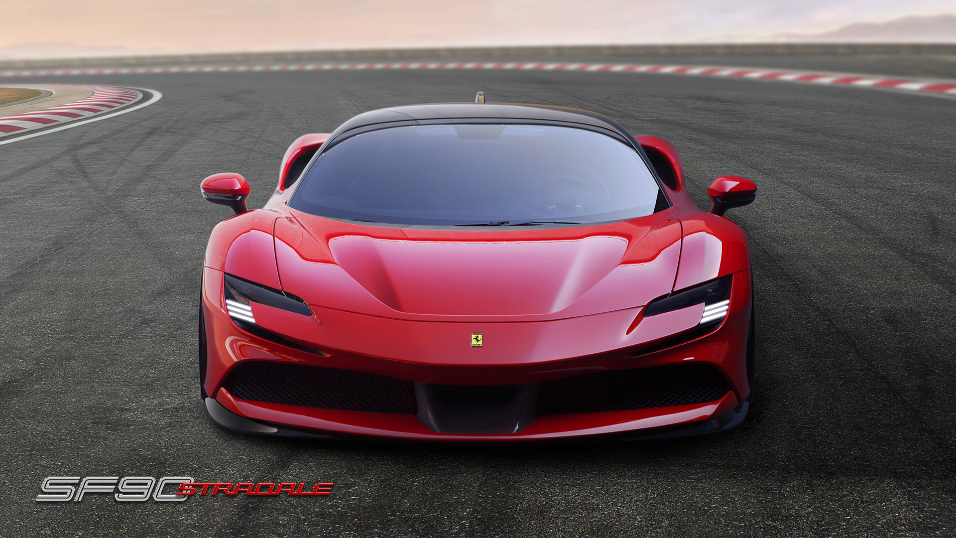 2020 Ferrari SF90 Stradale Front View