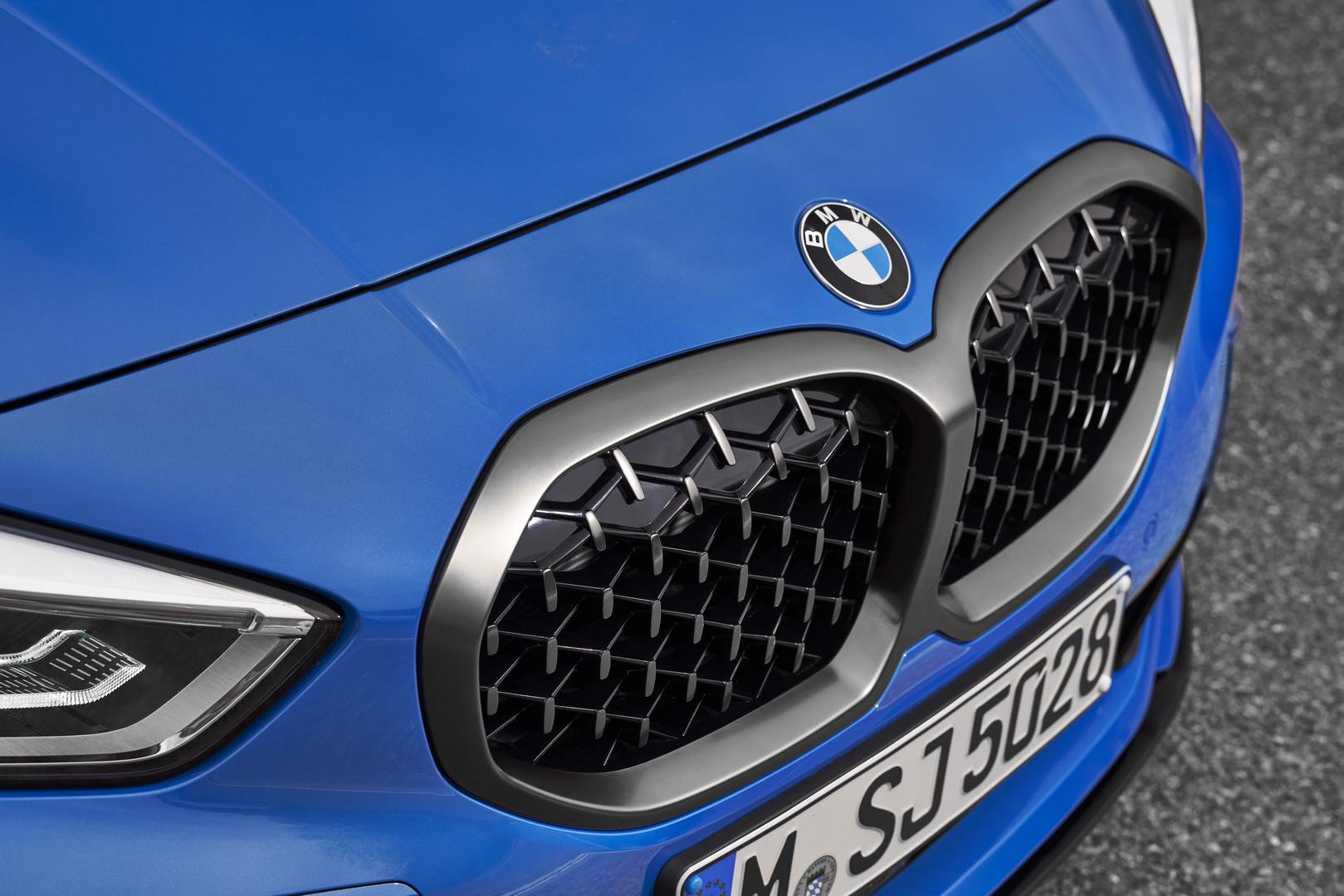 2020 BMW M135i Kidney Grille