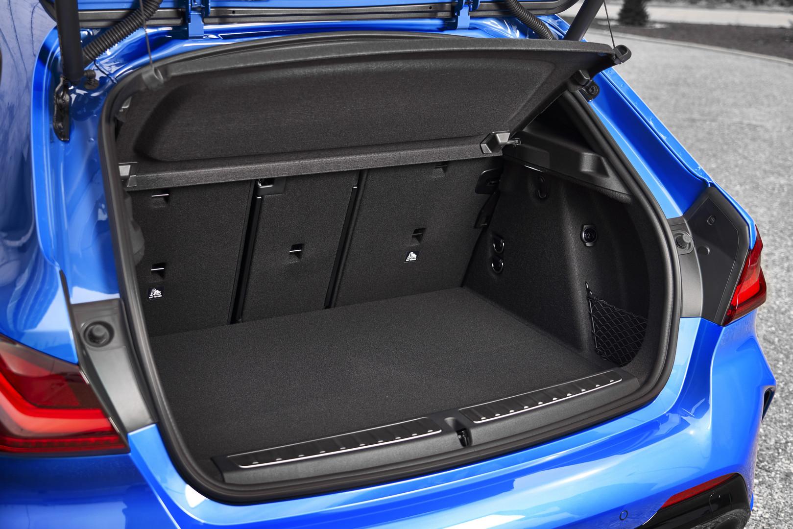 2020 BMW M135i Boot