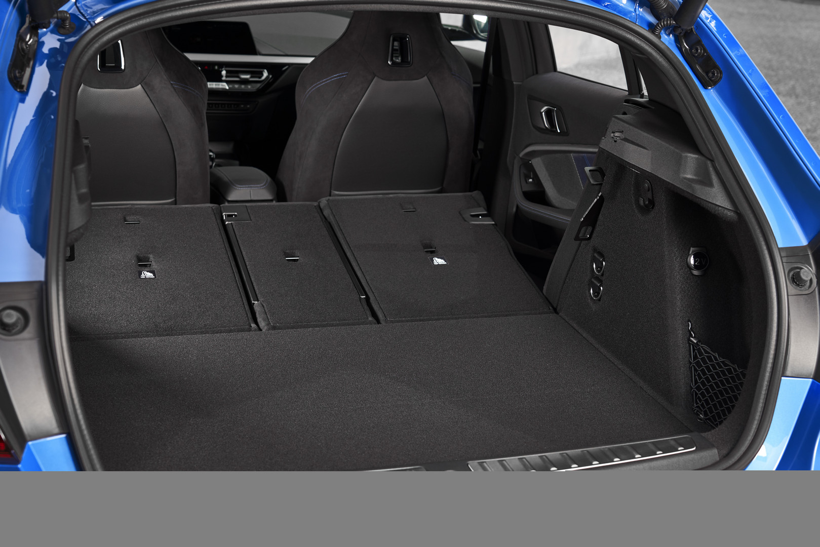 2020 BMW M135i Folded Seats