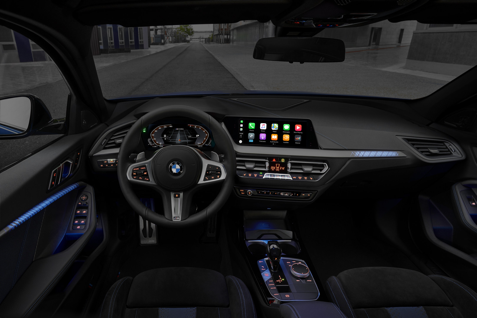 BMW M135i Interior Screen