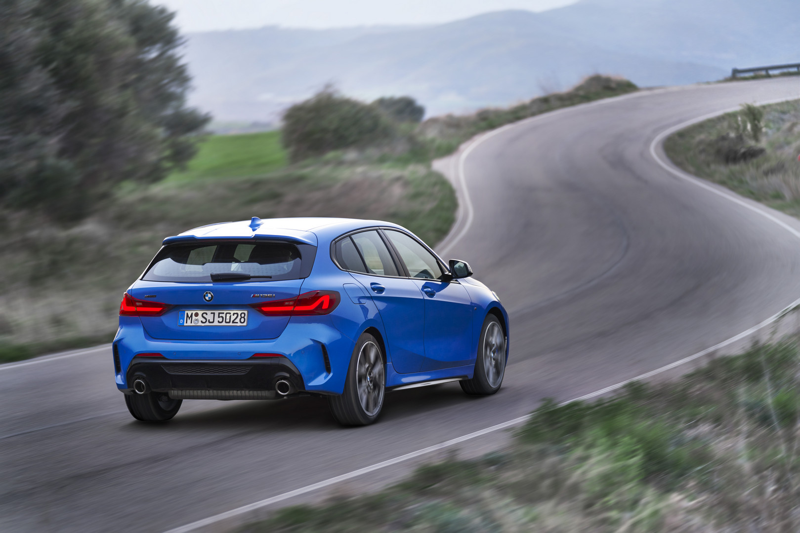2020 BMW M135i Rear Quarter