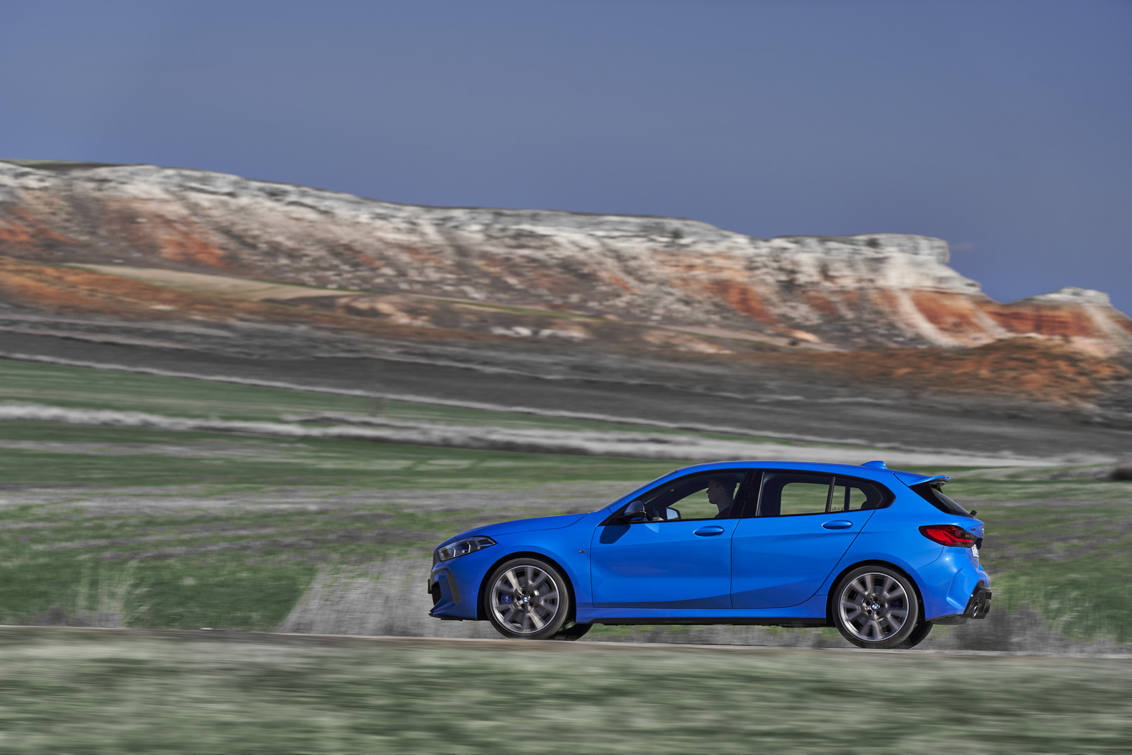 2020 BMW M135i Side View