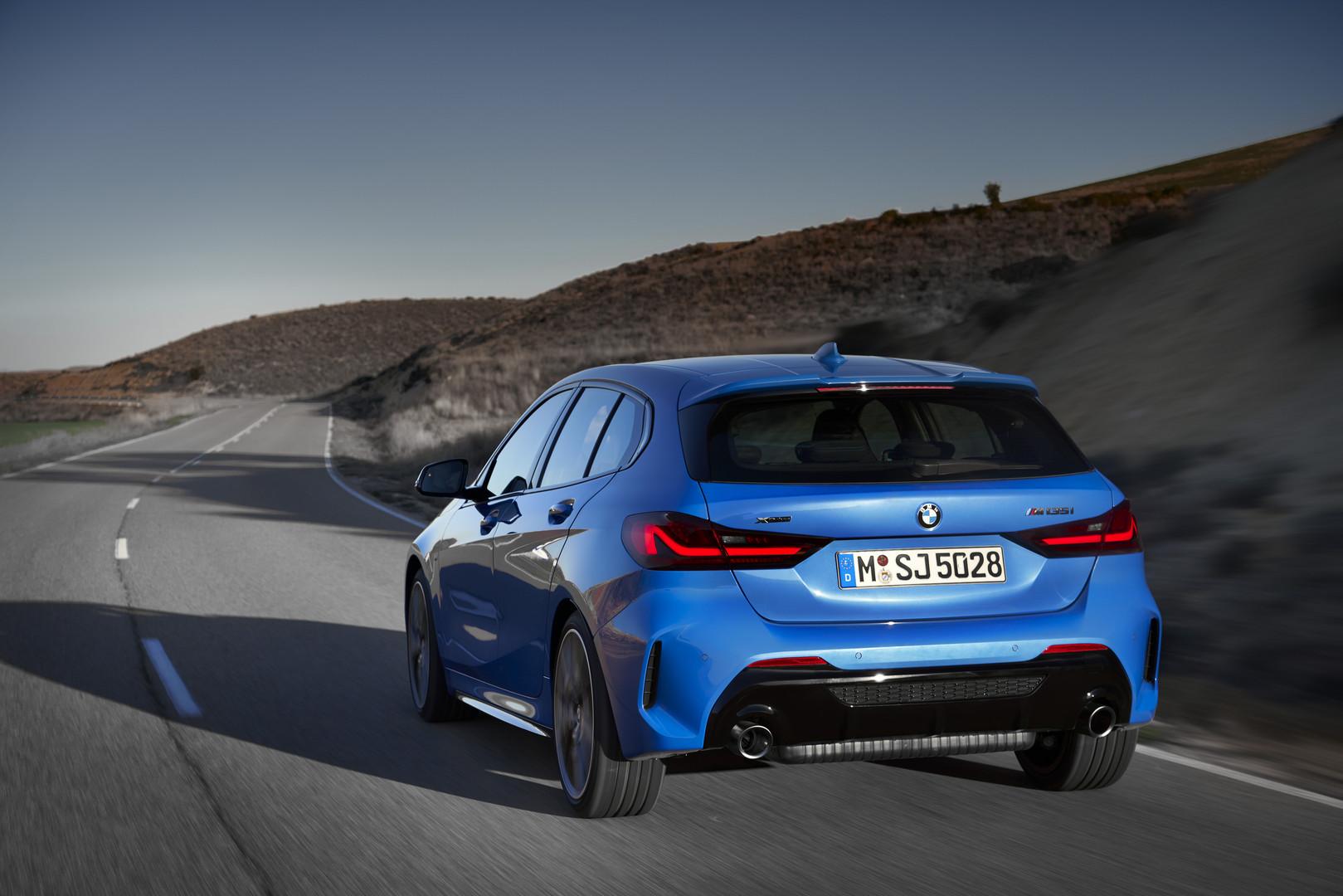 2020 BMW M135i Rear Lights