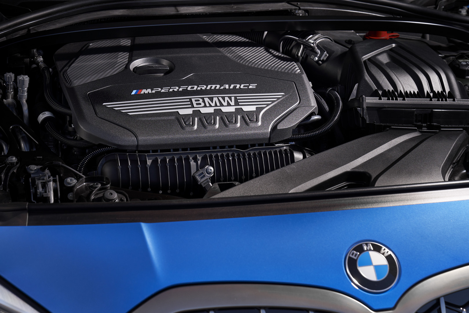 2020 BMW M135i Engine