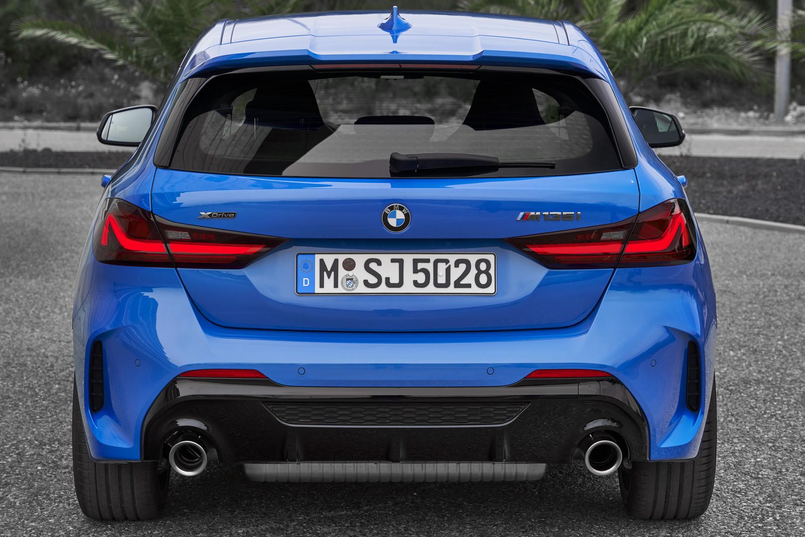 2020 BMW M135i Rear View