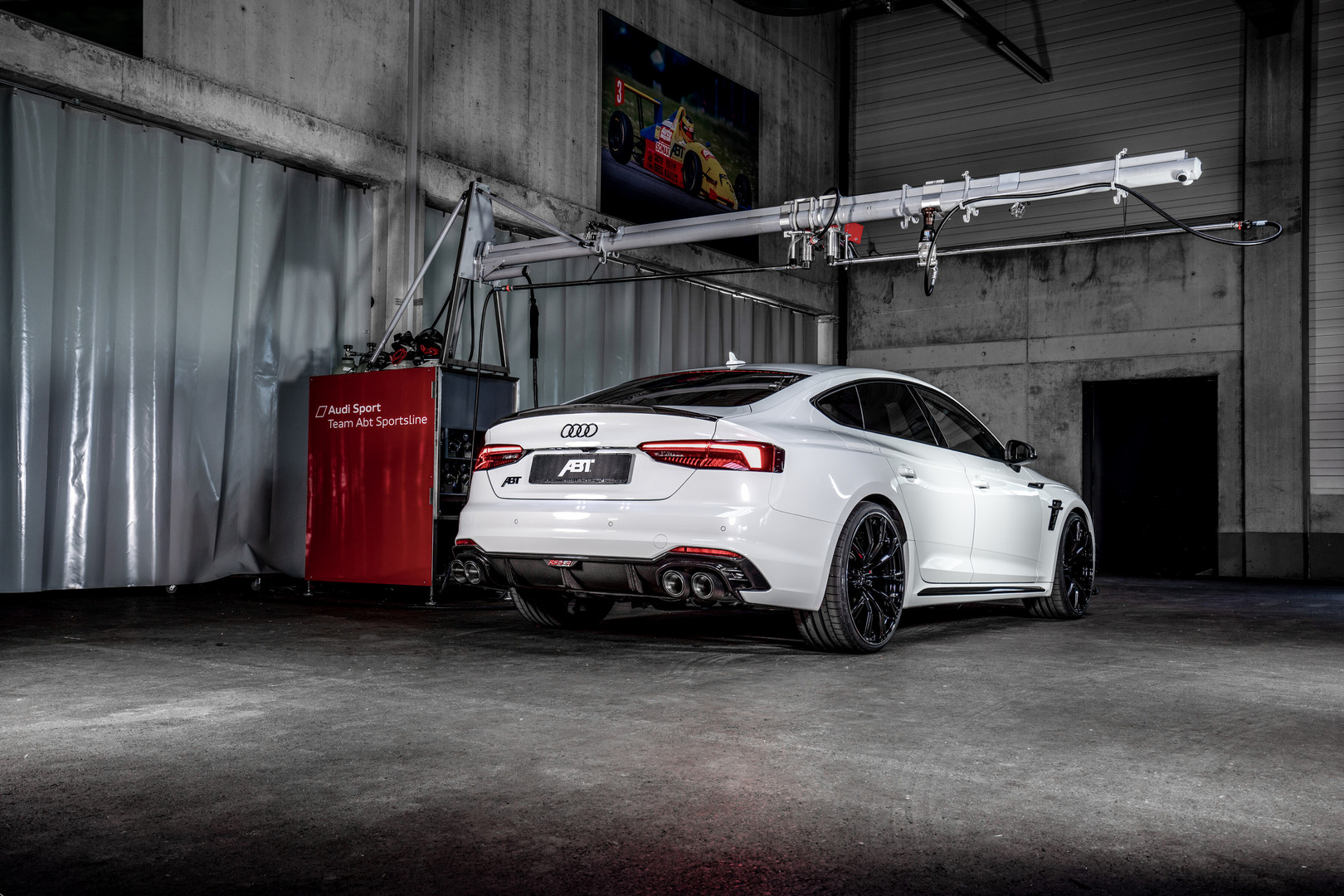 ABT Audi RS5-R Sportback Rear View
