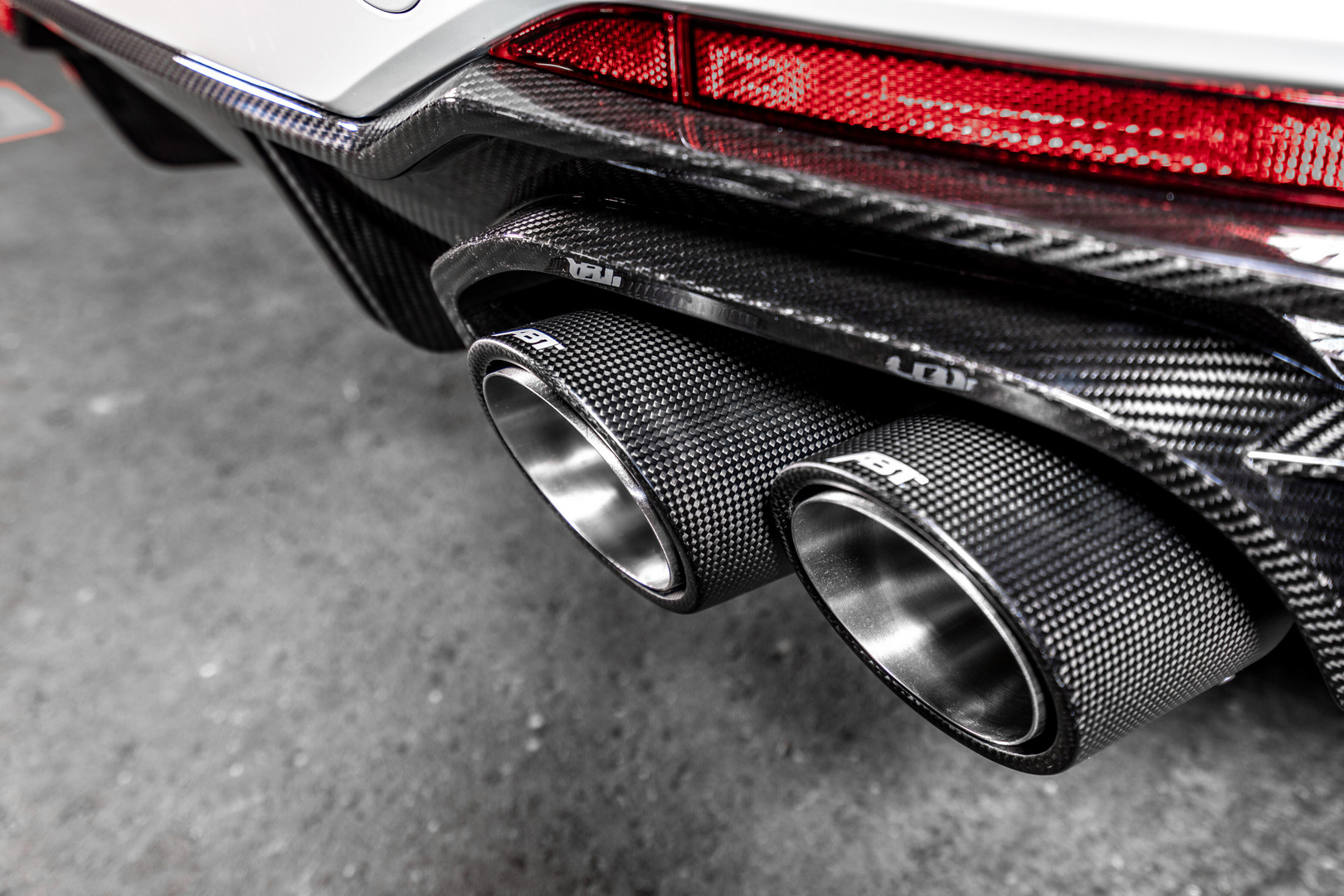 ABT Audi RS5 Exhaust Pipes