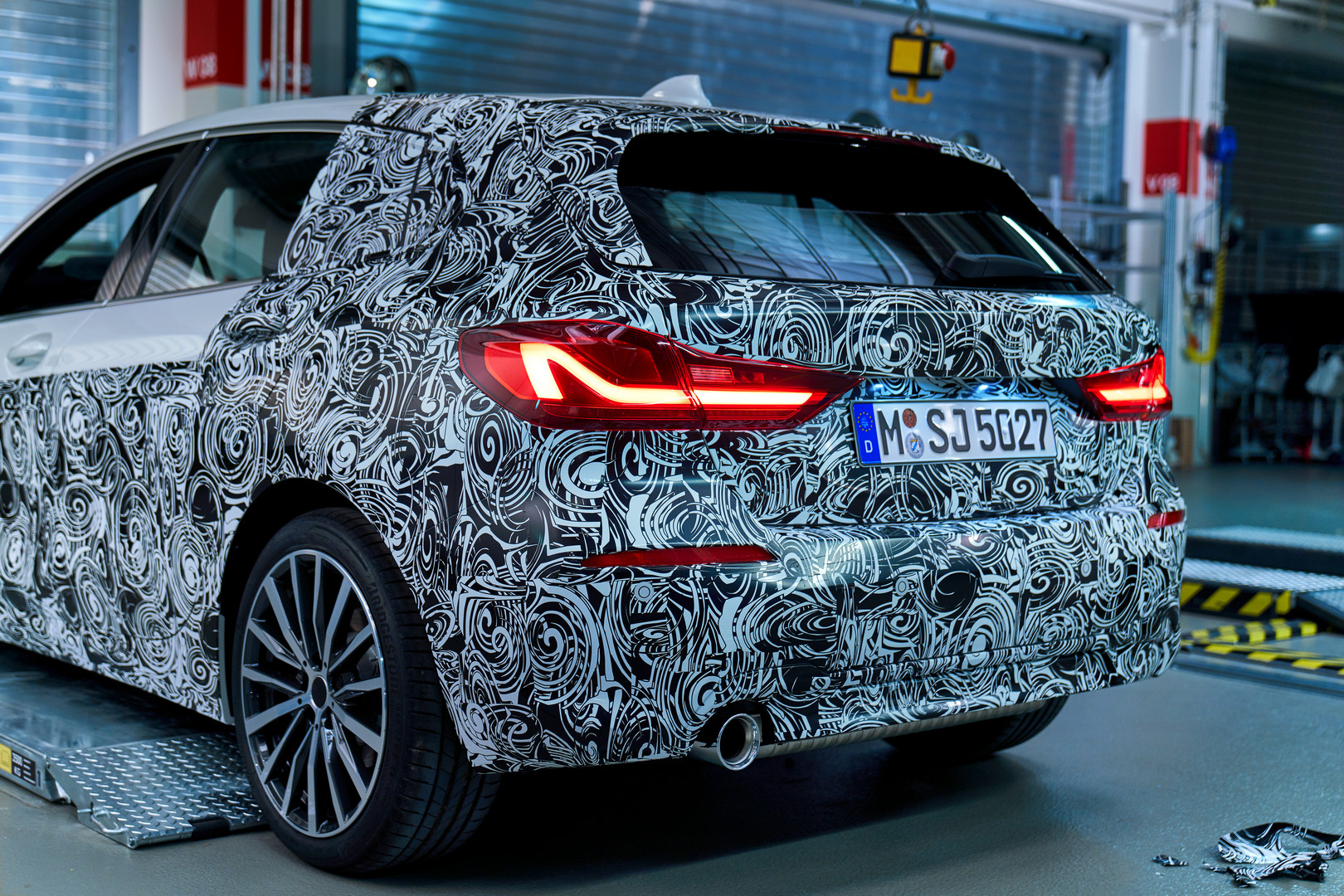 2020 Bmw 1 Series We Take Off The Camo Gtspirit
