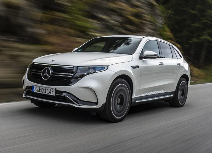 Designo Diamond White Mercedes-Benz EQC 400