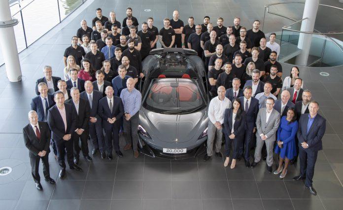 Meet the 20,000th McLaren: A 600LT Spider