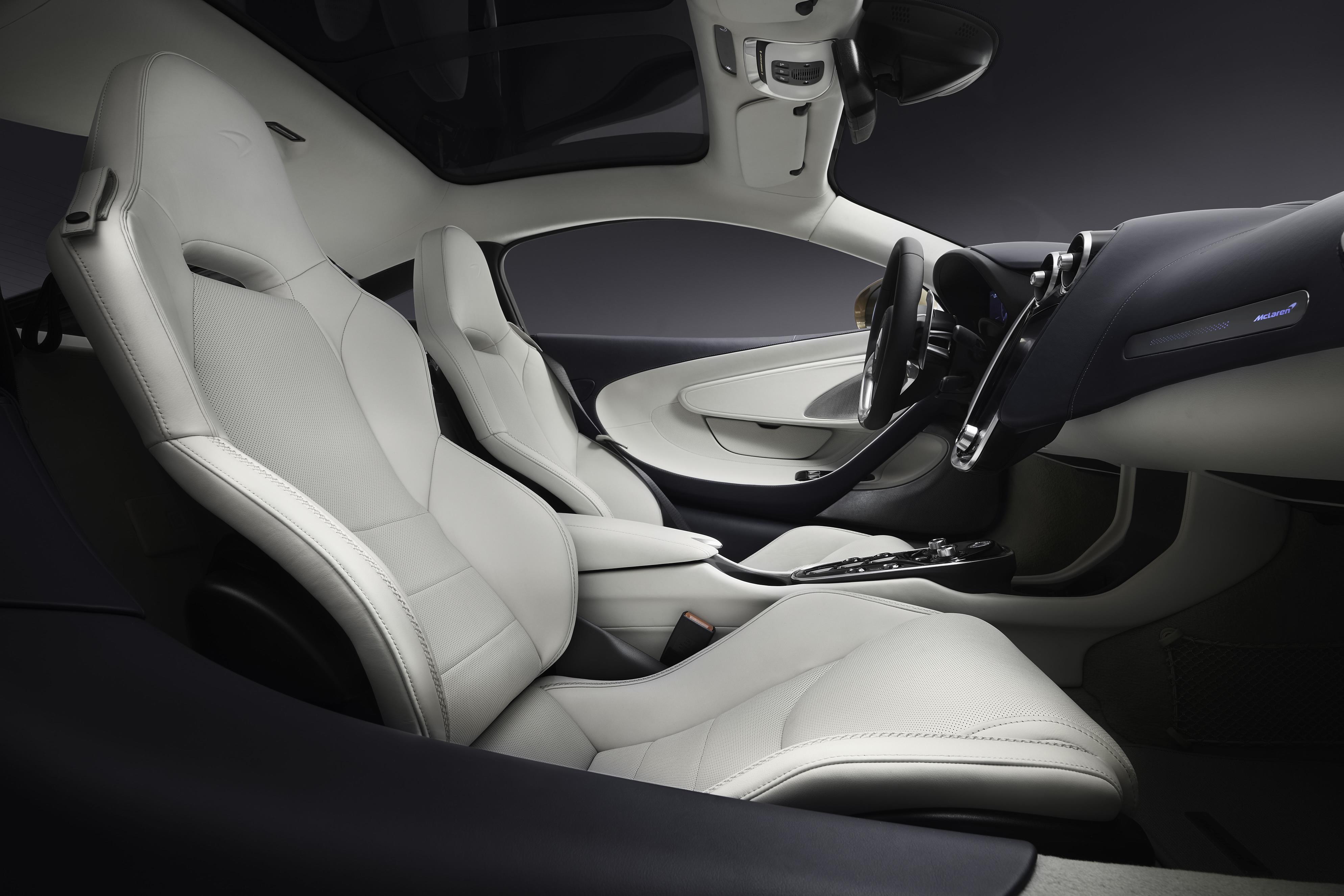 McLaren GT Seats