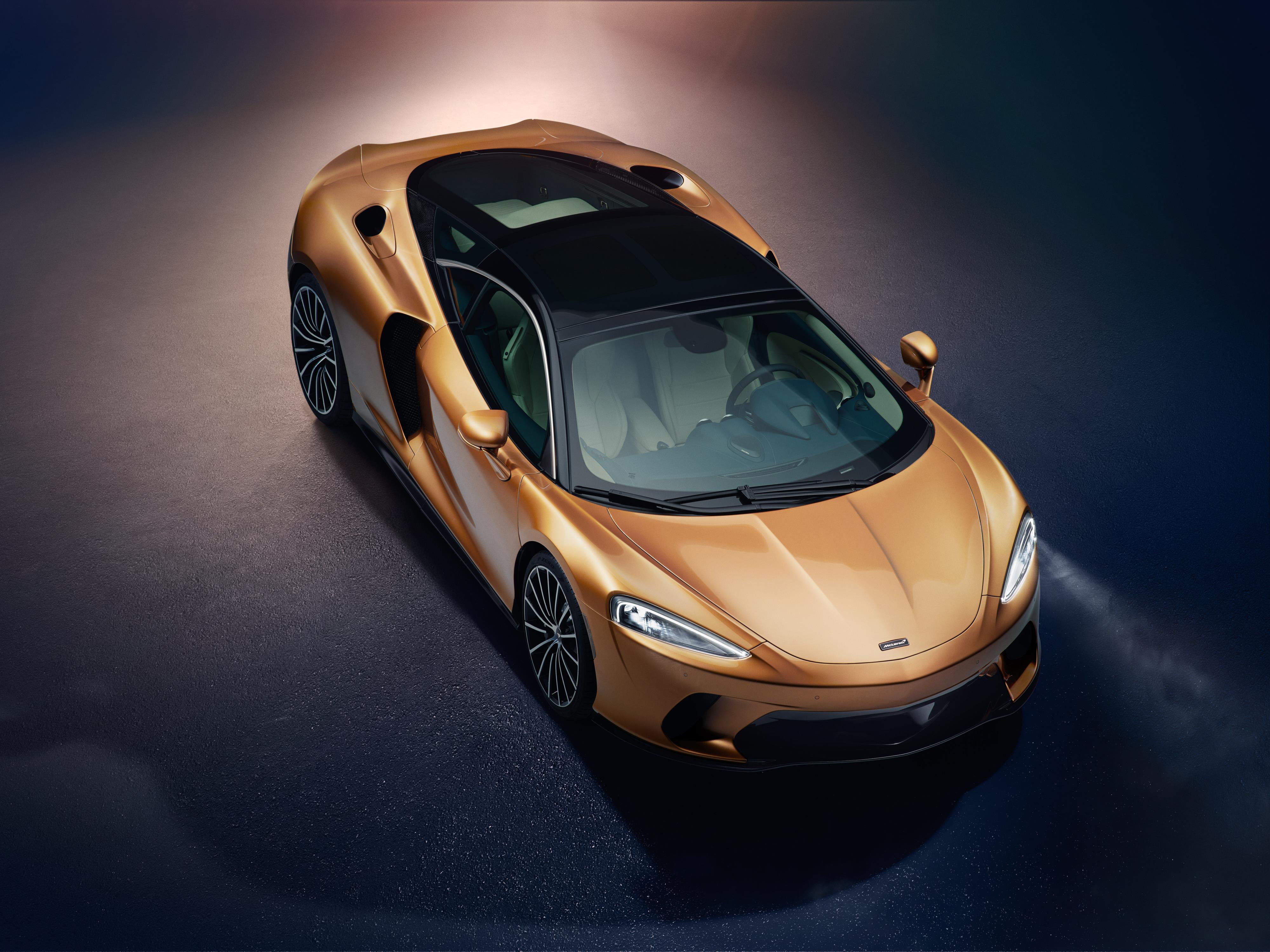 McLaren GT Front Top View