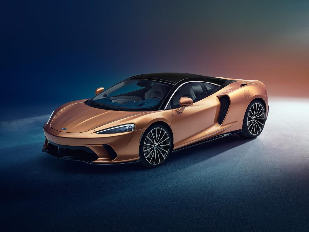 McLaren GT Front Side View
